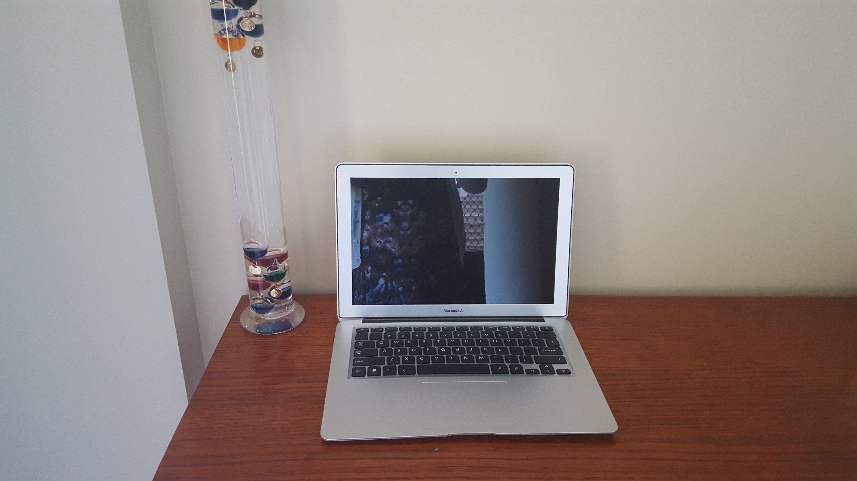 Silver Laptop prop